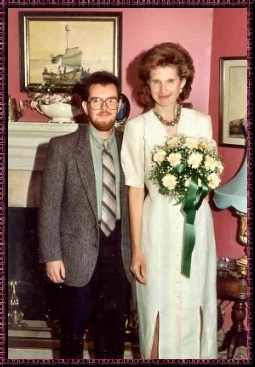 Calicocat's wedding, Aug.23,1993